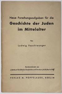 image of Neue Forschungsaufgaben für die Geschichte der Juden im Mittelalter