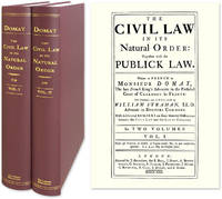 The Civil Law in its Natural Order: Together with the Publick Law..