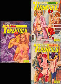 La Donna Tarantola [The Tarantula Woman] (3 vintage Italian comic digests)