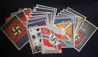 image of Die Siegreichen Fahnen und Standarten der Deutschen Wehrmacht [21 postcards -- complete]