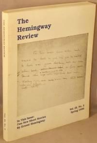 image of The Hemingway Review; Vol. IX 9, No. 2, Spring 1990.