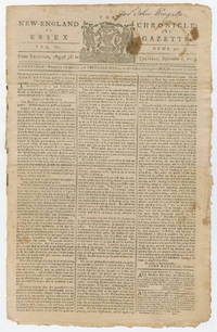 Continental Congress July 1775 Message Asserting American Sovereignty and Rejecting Parliament's Appeal for Peace Drafted by Thomas Jefferson and Printed at Harvard - With London News Reports on Battles of Lexington and Concord