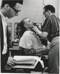 Original photograph of Laurence Olivier in makeup, circa 1960s