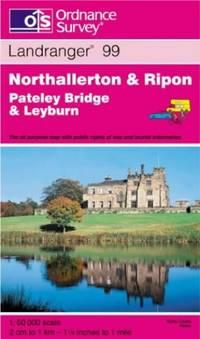 image of Northallerton and Ripon, Pateley Bridge and Leyburn (Landranger Maps)