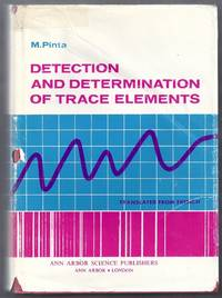 Detection and Determination of Trace Elements. Absorption Spectrophotometry, Emmision Spectroscopy, Polarography