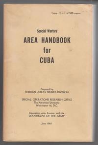Special Warfare Area Handbook for Cuba 1961