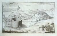 A. Perspectiva del Adoratorio o Templo de los antiguos indios, que existe inmediato al pueblo de Cayambe, Jurisdiccion del Corregimiento de Otavalo, Provincia de Quito
