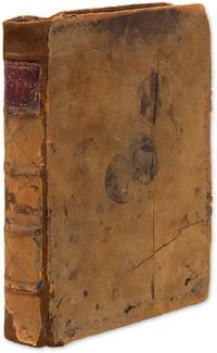 Account Book, New York City, 1795-1798. [xxiii], 326 pp. Quarto
