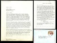 Correspondence concerning an unauthorized printing of the suite Mujeres