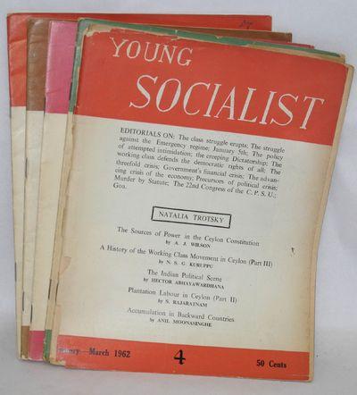 Colombo, Sri Lanka: the journal, 1966. Five issues (of 20 originally published), average length arou...