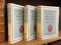 CUNNINGHAM'S MANUAL OF PRACTICAL ANATOMY [THREE VOLUMES]