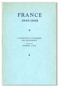 France 1940-1942. A Collection of Documents and Bibliography