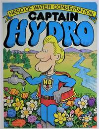 ( Social Action, Education - Original Poster )  Captain Hydro Hero of Water Conservation