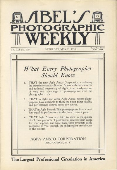 Lorain, Ohio: The Abel Publishing Company, 1928. First editions. 8vos., variable paginations (32 - 6...