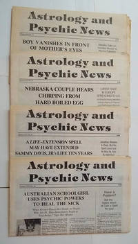 Astrology and Psychic News (4 Issues) Volume LXVI Nos. 10, 16, 23, 24