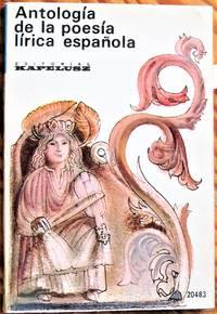 image of Antologia de la Poesia Lirica Espanola
