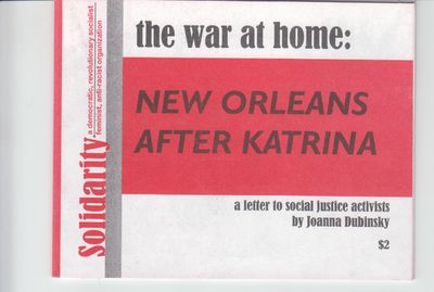 Detroit: Solidarity. 2006?. First Printing. Softcover. Wraps, near fine with soiling to rear wrap. ;...