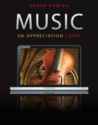 Music: An Appreciation (Brief) Connect Upgrade Edition