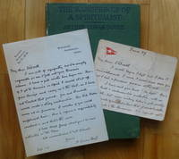 THE WANDERINGS OF A SPIRITUALIST [inscribed plus three letters]