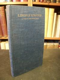 Lincoln Kirstein, the Published Writings 1922-1977: A First Bibliography