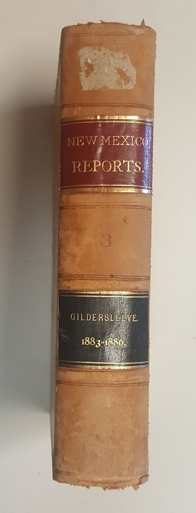 Columbia, Mo: E.W. Stephens, 1896. Hardcover. Octavo; Leather Binding; VG-; Hardcover; yellow spine ...