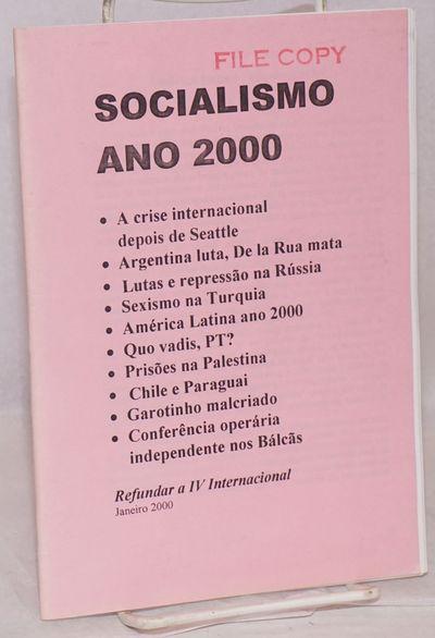 Sao Paulo: Osvaldo Coggiola, 2000. 55p., staplebound pamphlet, text in Portuguese. Stamped