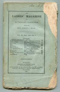 The Ladies' Magazine and Literary Gazette Vol. III No. V (May 1830)