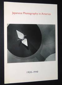 Japanese Photography in America, 1920-1940: September 8 - November 2, 1988