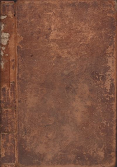 New York: Charles Wiley. J. Seymour, Printer, 1825. First Edition. Leather bound. Fair. 12mo. , viii...