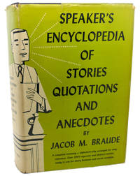 image of SPEAKER'S ENCYCLOPEDIA OF STORIES QUOTATIONS AND ANECDOTES