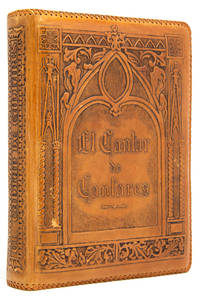 El Cantar de Cantares de Salomon by  Fr. Luis de (Printed on Cork) Leon - Hardcover - One of 17 lettered copies printed on cork for collaborators, thi - 1946 - from James Cummins Bookseller and Biblio.com