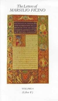 image of The Letters of Marsilio Ficino: v. 4