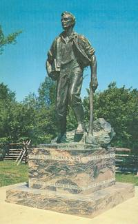 ABRAHAM LINCOLN FROM NEW SALEM, ILLINOIS 1960s unused Postcard
