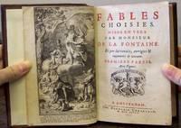 FABLES CHOISIES.  Mises En Vers Par Monsieur De La Fontaine.  Et par lui revues, corrigees & augmentees de nouveau (5 parts in 1)