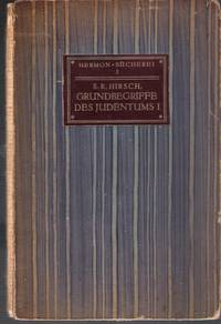 Grundbegriffe des Judentums. I