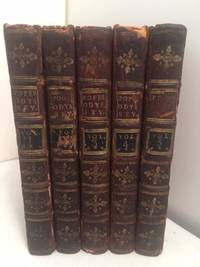 image of The Odyssey of Homer Translated from the Greek (Pope's Odyssey).  5 volumes