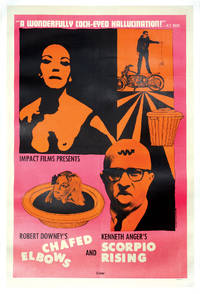 image of Chafed Elbows and Scorpio Rising (Original poster for the 1966 double-bill of the two films)