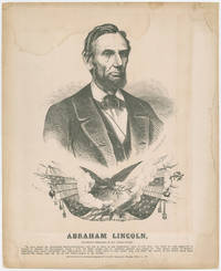 Political Print of Abraham Lincoln Later Used in 1864 Election