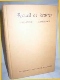 Recueil De Lectures (Alternate Intensive Readings)