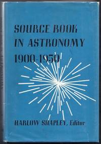 Source Book in Astronomy 1900-1950