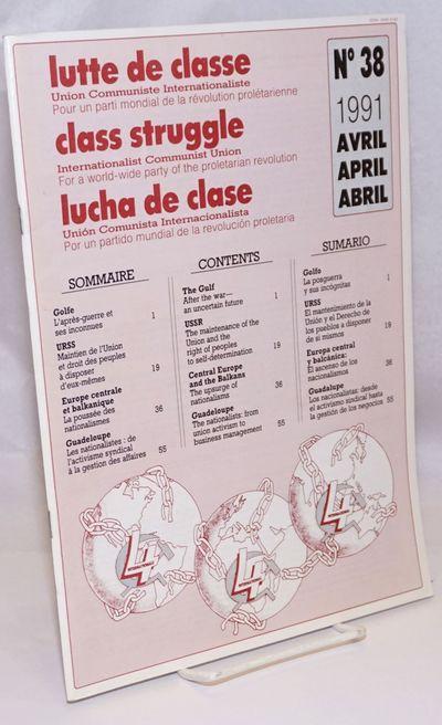 Paris: Lutte Ouvriere, 1991. Magazine. 63p., stapled wraps, 8.5 x 11.75 inches, three horizontal row...