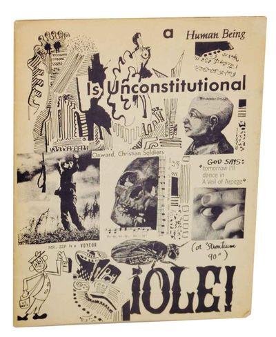 Wood Dale, IL: Douglas Blazez, 1967. First edition. Literary journal edited by Douglas Blazek and pr...