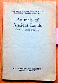 image of Animals of Ancient Lands. Ten Cent Pocket Series No. 274