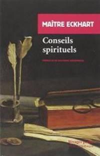 Conseils spirituels by Eckhart - Paperback - 2002-12-29 - from Books Express (SKU: 2743610646)