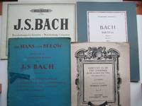 image of The Hans von Bulow edition of pianoforte works: Album of 10 favourite  pieces, with, Partitas Book II nos. 4-6, with, Brandenburg Concertos no. 1  in F major, with, Sanctify us by thy goodness from Cantata no. 22 arranged  by Harriet Cohen