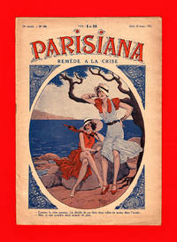 image of Parisiana - Jeudi 20 Avril 1933. Art Deco/Nouveau, Pin-up; cover art by Rene Giffey