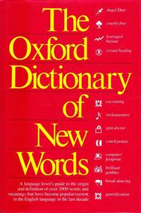 A Dictionary of New Words