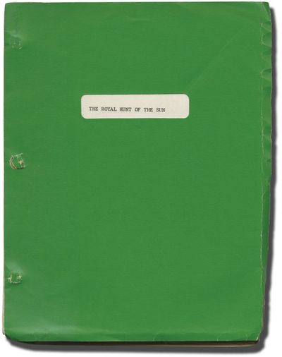 London: National General Pictures, 1968. Revised British script for the 1969 film, a UK-US co-produc...