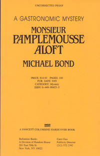 MONSIEUR PAMPELMOUSSE ALOFT ~ A Gastronomic Mystery