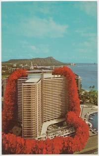 Ilikai on Waikiki Yacht Harbor, Hawaii, 1960s unused Postcard